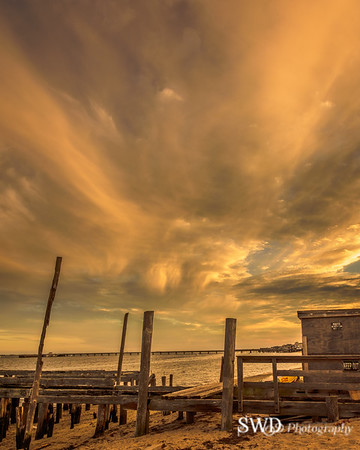 Sunset at Old Pier, Provincetown, MA