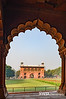 View from Diwan-i--Aam (where the emperor would give audiences to the public) inside the Red Fort, Delhi