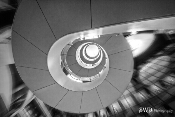 Under the Spiral Staircase