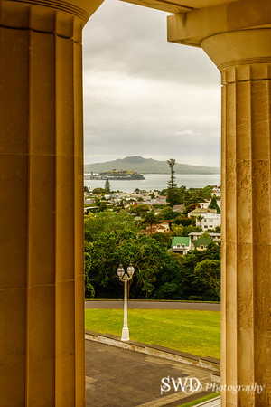 View from the Auckland Museum