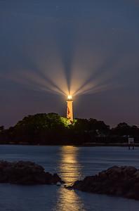 Jupiter Lighthouse before Sunrise
