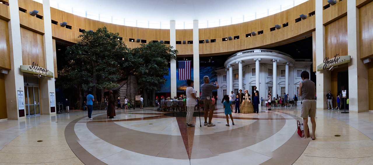 Main Lobby of the presidential library