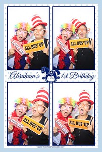 Abraham's 1st Birthday (Classic Photo Booth)