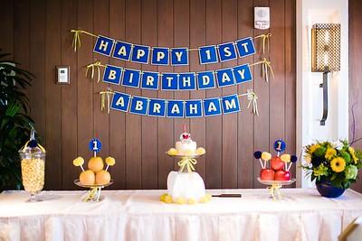 Abraham's 1st Birthday (Event Photos)