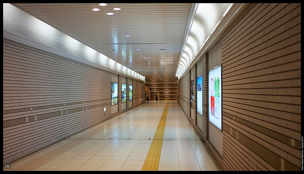 The Kyoto Subway  Kyoto 2013
