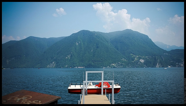 Kinda like this view  Lugano, Switzerland