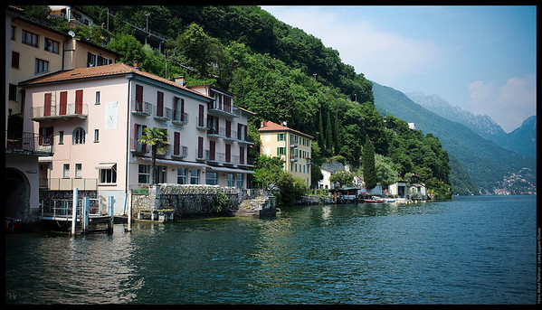 Quiet village of Gandria  Lake Lugano, Switzerland