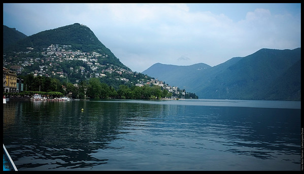 Quite a hot day actually  Lake Lugano, Switzerland