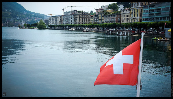 I want to stay at the back  Lake Lugano, Switzerland