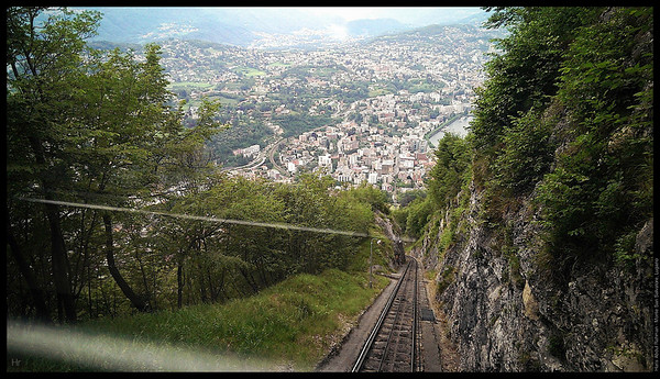 Time to head down  Monte San Salvatore, Lugano