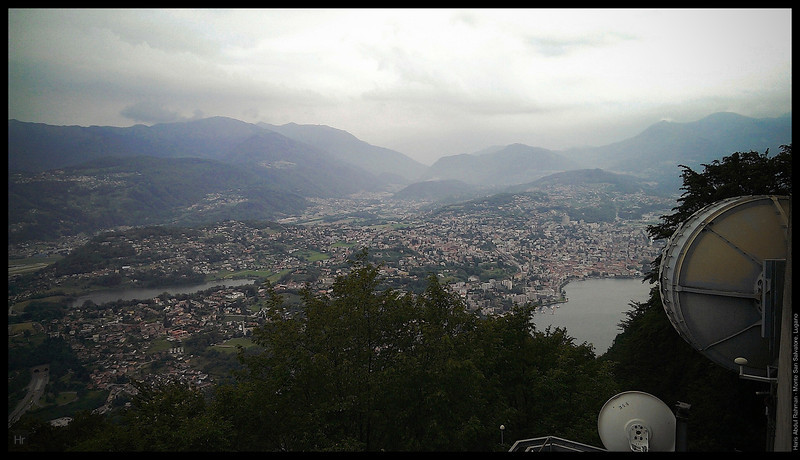 On top of Monte San Salvatore  Monte San Salvatore, Lugano