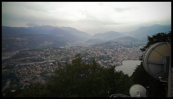 On top of Monte San Salvatore  Monte San Salvatore, Lugano