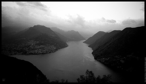 Bad weather to be honest  Monte San Salvatore, Lugano