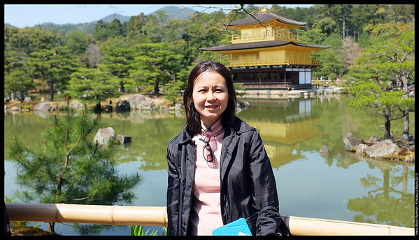 Kinkaku-Ji, The Golden Pavilion 5th April 2013 Kyoto, Japan