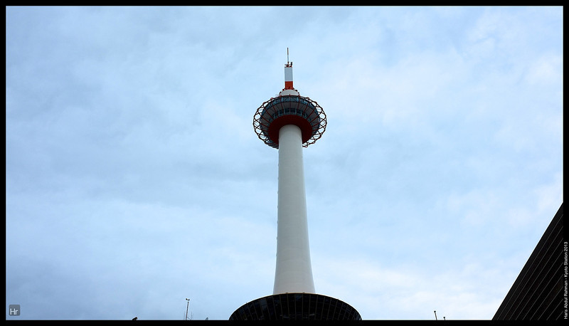 The Kyoto Tower<br /> <br /> Kyoto Station<br /> 6th April 2013<br /> Kyoto, Japan