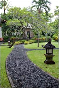 Around Grand Hyatt Bali