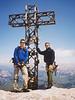 Marmolada summit, 3343m.