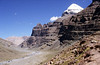 Mount Kailash from Lhachu, Tibet.