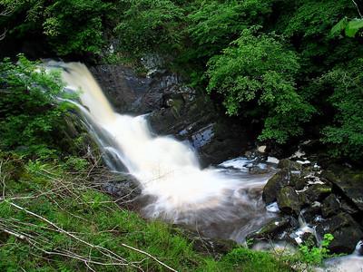 Ingleton Waterfall Trail  Smaller falls along the trail