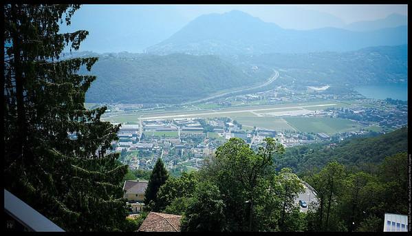 View from my room  Kurhaus Cademario Hotel, Lugano