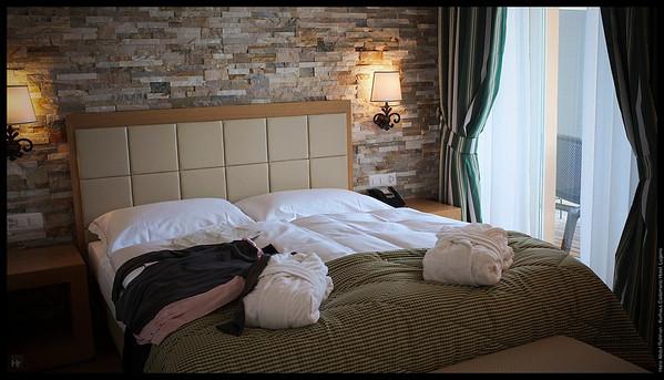 Let's mess up the room  Kurhaus Cademario Hotel, Lugano