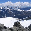 View from Mount Aspiring.