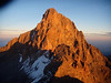 Summit of Mount Kenya