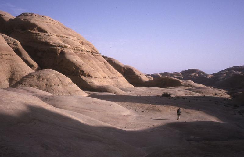 Brian in Jebel Rum.