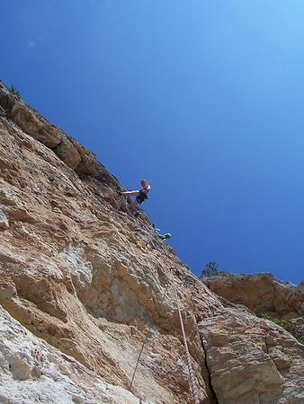 Dom's sport climbing trip to Mallorca