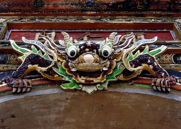 Gatekeeper. Dong Ba Gate, Hue. January 4, 2004.