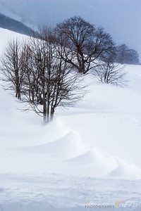 Snow storm (Scanno)
