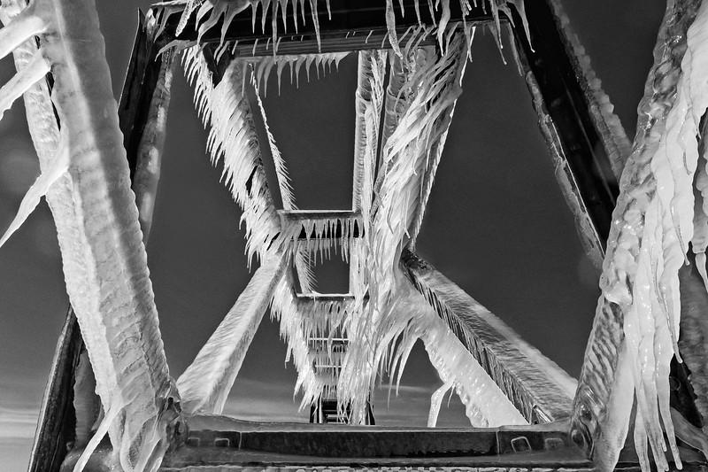 Ice on Steel