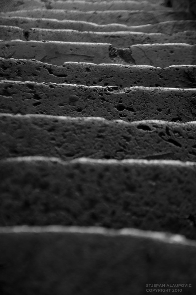 Steps to Our Lady of Mercy Church