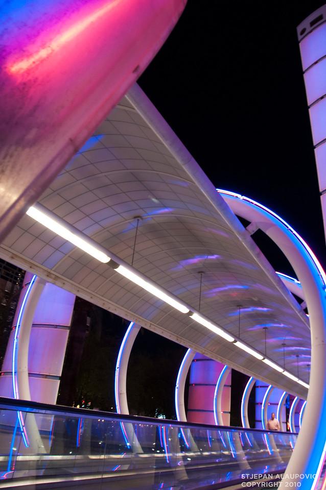 Las Vegas Light Rail Entrance