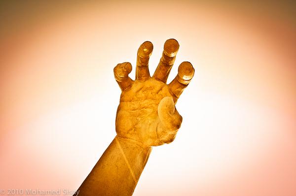 The hand of The Awakening.
