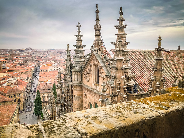 Ancient Cathedral spires