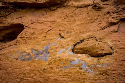 Lichen and Red Rock Art 2