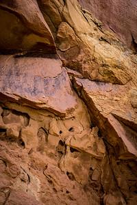 Nature Designed Red Rock Art
