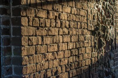 Brick and Rock Wall