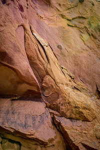 Colorful Red Rock Art