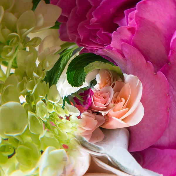 Spinning bouquet