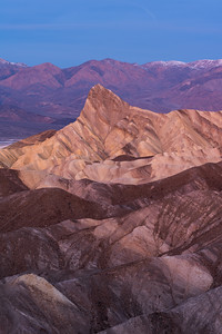 Death Valley Zabriskie Point Vertical