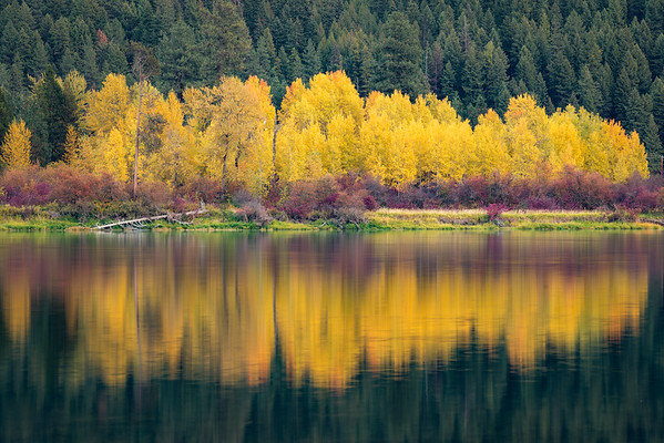 Pend Oreille River Autumn