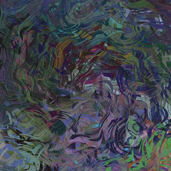 Mining Nightfall Abstract Dream
