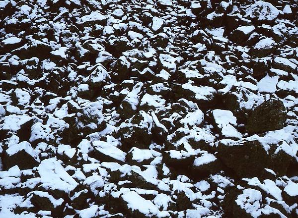 Boulders & Snow