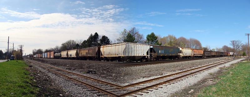 Strange Railroad Crossroad