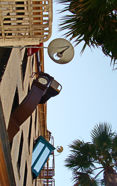 Grandfather Clock and Lamps