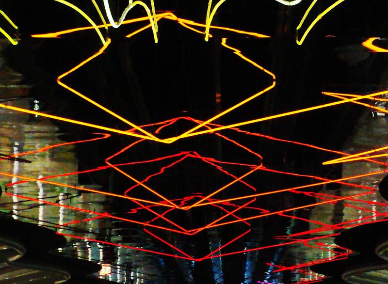 Underground Neon Light Show