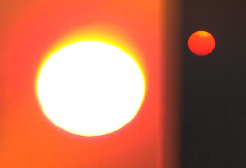 From Rochester Sunset to Jordan Moonrise