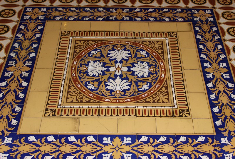 United States Senate Floor Tile Design